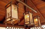 Изготовление светильников из бамбука своими руками
