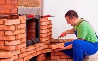 Использование огнеупорного мертеля для кладки печей и каминов