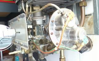 Водяной узел газовой колонки