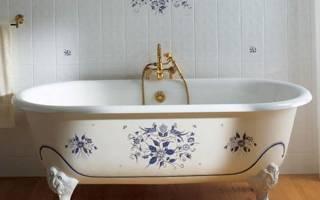 Какая ванна лучше: чугунная, стальная или акриловая? сравнительный анализ