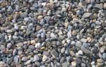 Виды гравия и их применение