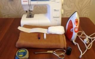 Техника пошива штор своими руками: руководство, инструкция