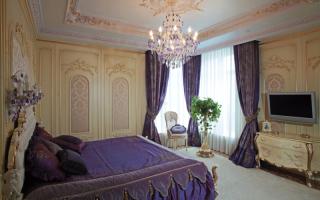 Спальни в стиле барокко своими руками (фото)