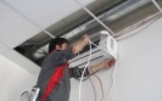 Монтаж кондиционера: порядок выполнения работ