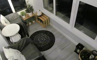 6 вариантов декора балкона в квартире: реальные фото