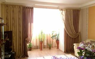 Какие шторы выбрать в зал: подбираем цвет и фасон