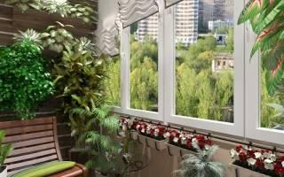 Вертикальный сад на балконе