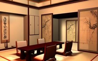 Квартиры в японском стиле