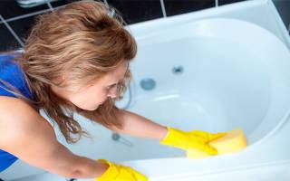 Чем чистить чугунную ванну? средства для ухода за ванной