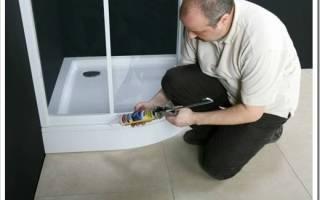 Как самому установить душевую кабину в доме