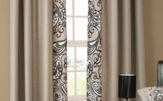 Бежевые шторы в интерьере — признак изысканного вкуса