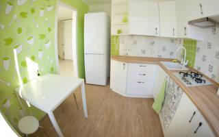 Комбинированные обои для кухни в интерьере фото: как скомбинировать и оклеить, дизайн, идеи 2017, видео