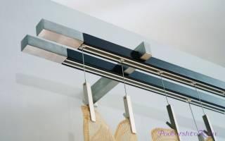 Настенные деревянные карнизы для штор: особенности выбора