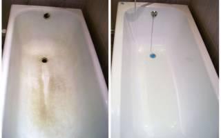 Как заменить покрытие ванны при помощи акрила?