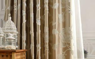 Какую подобрать плотную ткань для штор— велюр или хлопок?