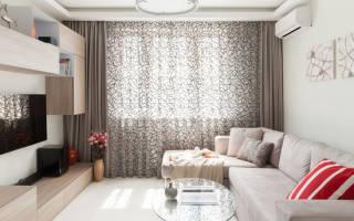Особенности дизайна штор для гостиной
