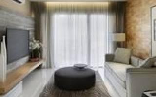 Как грамотно расставить мебель в прямоугольной комнате?