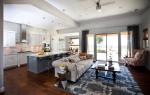 Как неординарно отгородить кухню от гостиной?