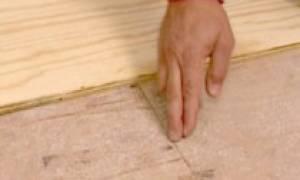 Выравнивание пола фанерой: как выровнять лаги старые, бетонная обрешетка и деревянная стяжка с помощью фанеры