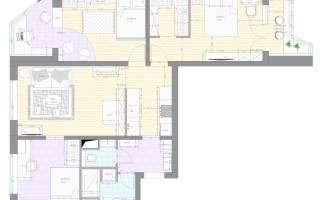 3-комнатная квартира в доме серии п-44 т