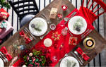 Украшение новогоднего стола 2018: сервировка и оформление (+мк)