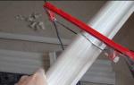 Чем резать пластиковый плинтус для пола: выбор инструментов