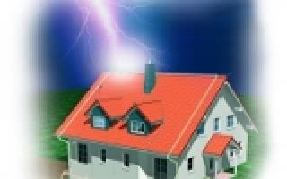 Как сделать молниеотвод? защита от молнии своими руками