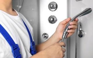 Как починить смеситель душа, если протекает его шланг?