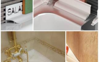 Как заделать шов между ванной и стеной? способы заделки шва