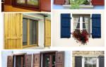 Ставни на окна: преимущества и недостатки