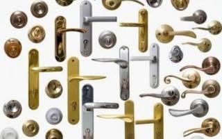 Инструкция по установке дверных ручек