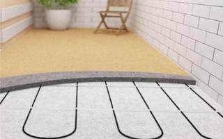Теплый пол на балконе своими руками: установка системы электрической, деревянный дом и плинтуса циклевка