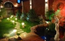 Подсветка садовых дорожек своими руками