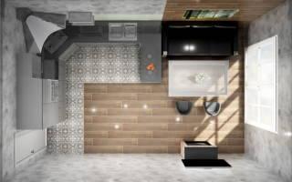 Как выполнить дизайн кухни гостиной 18 кв м?