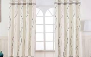 Короткие шторы для спальни: виды и особенности