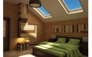 Дизайн спальни на мансардном этаже: правила оформления