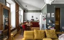 Правильный дизайн однокомнатной квартиры 30 кв м — в новостройке и старом доме